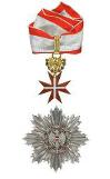 Großoffizierskreuz Í Klasse