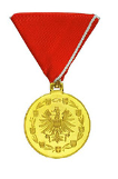 Medaille gold