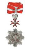 Großoffizierskreuz II Klasse