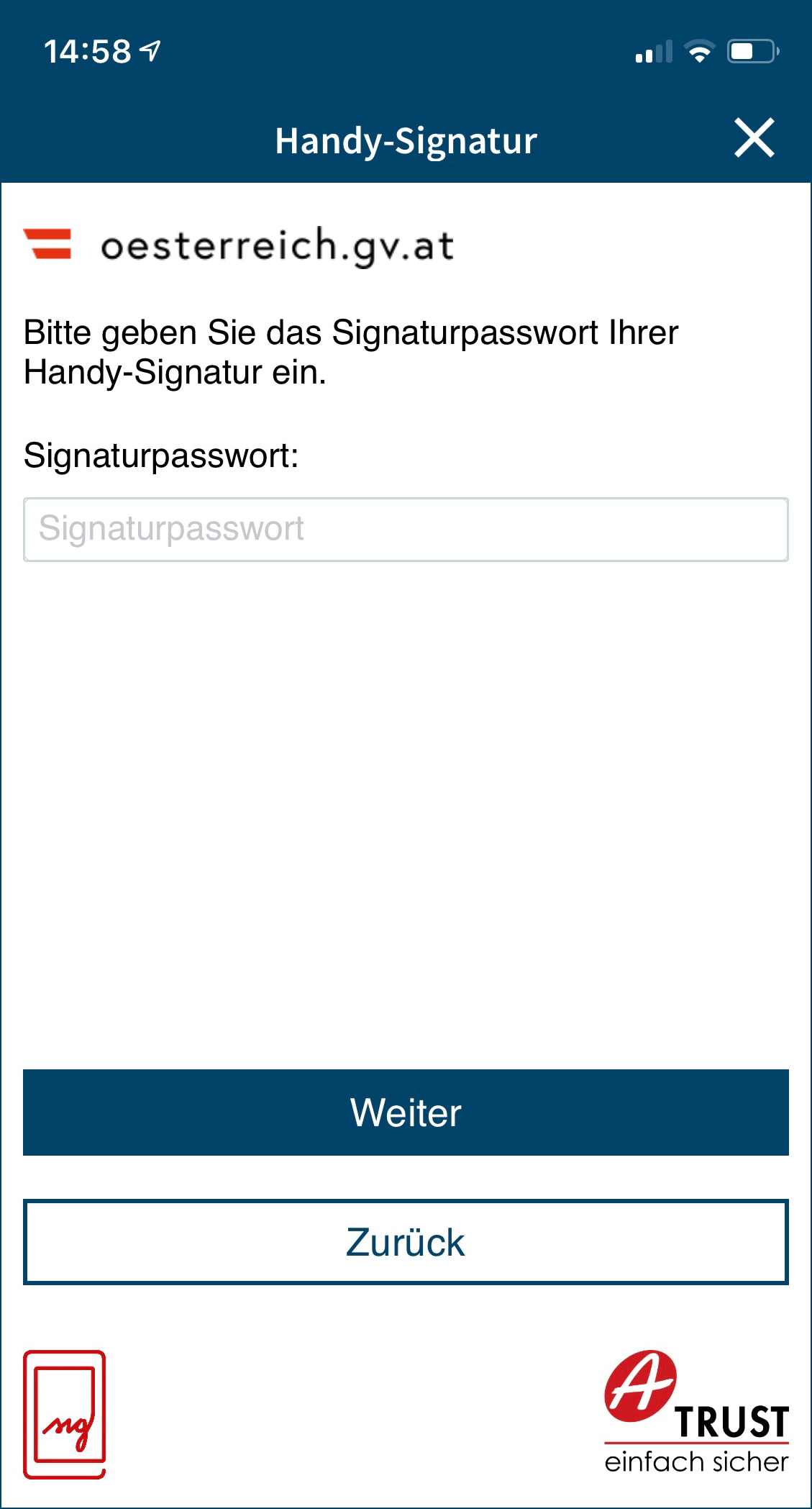 FAQ Handy-Signatur 1